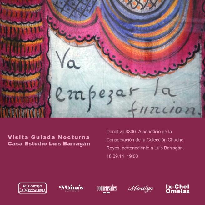 Barragán invitación