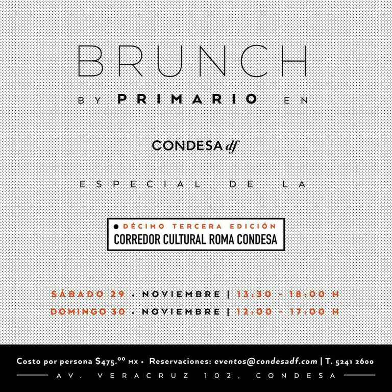 Brunch primario