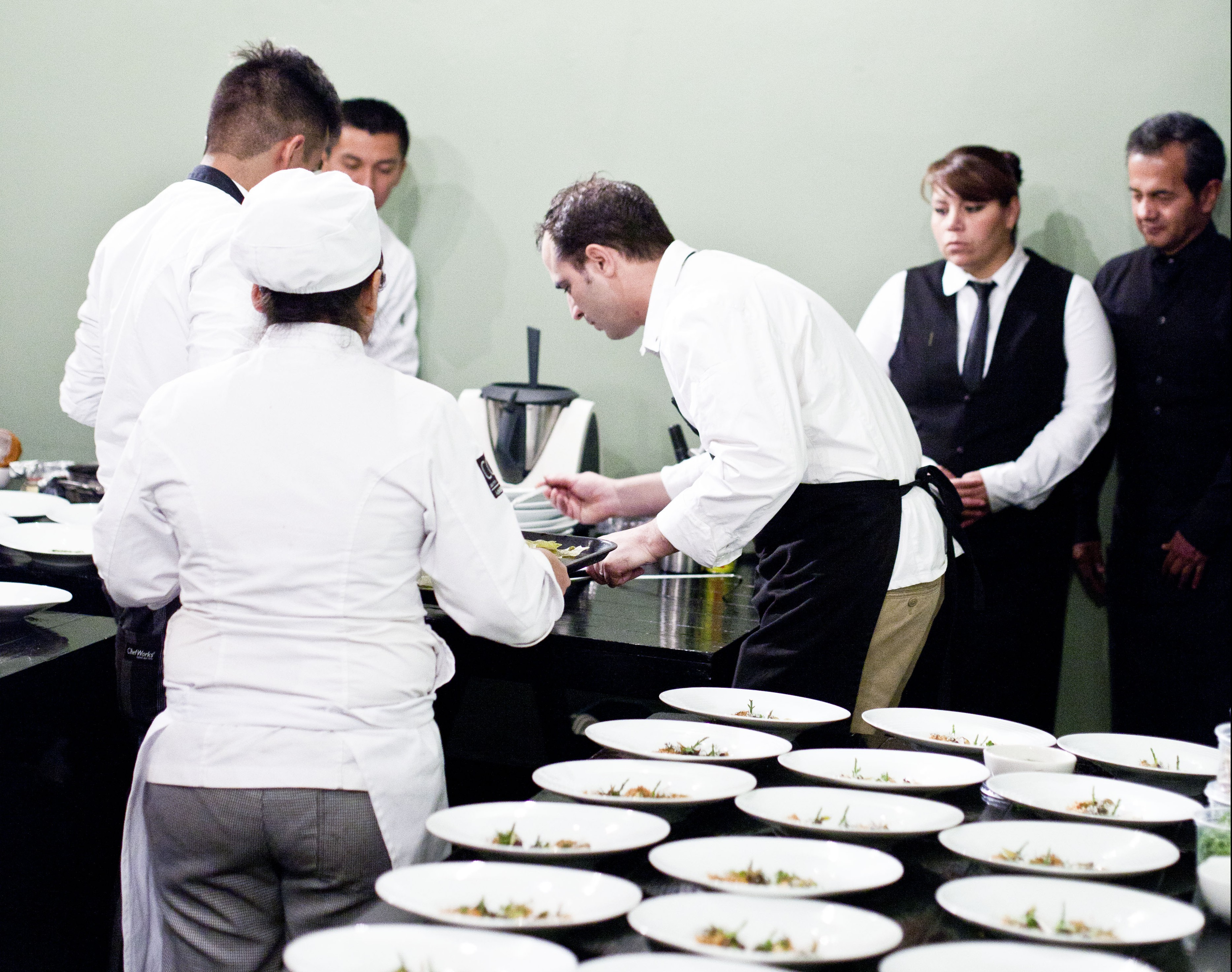 Cena con jonat n g mez luna for Deconstruccion culinaria