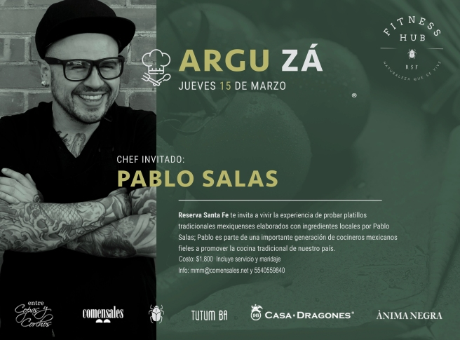 Pablo Salas Reserva Santa Fe