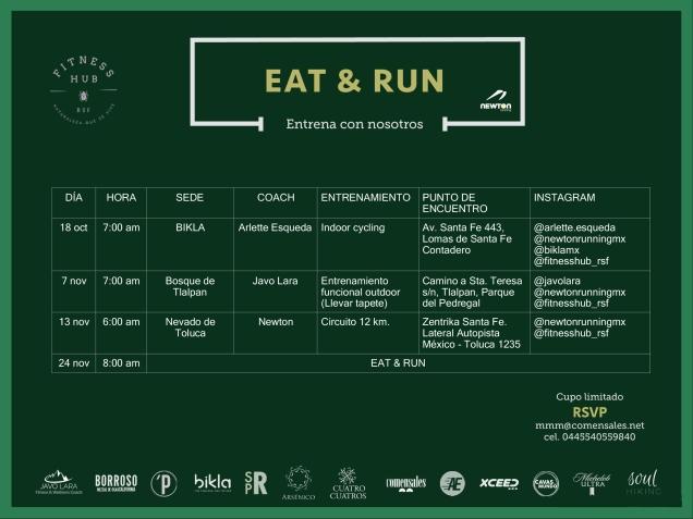 calendario eat run 2019